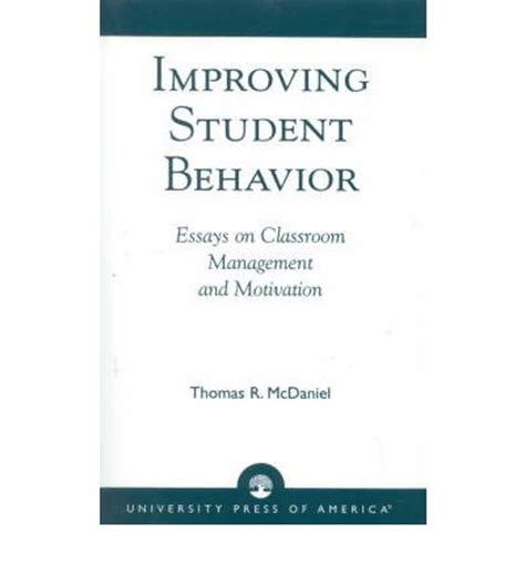 Essay on motivation in the classroom